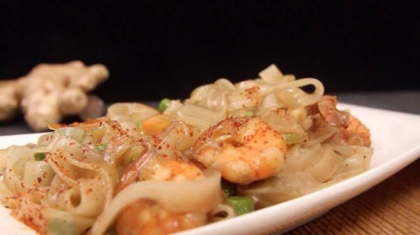 recette Wok thaï